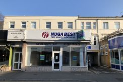 RETAIL UNIT WITH RETURN FRONTAGE IN BOURNEMOUTH – NOW LET
