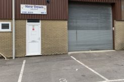 MID-TERRACE INDUSTRIAL UNIT – UNDER OFFER